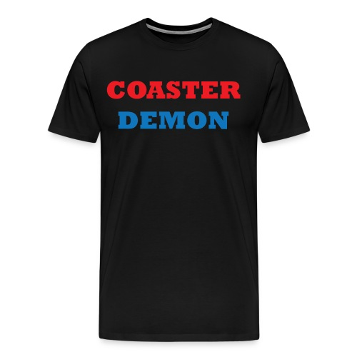 Coaster Demon Premium - Men's Premium T-Shirt