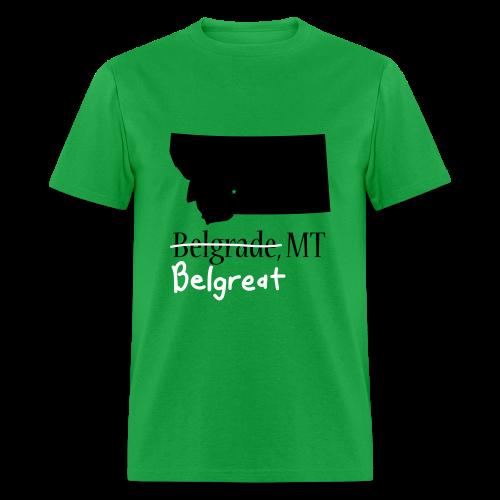 Belgreat Green Standard - Men's T-Shirt