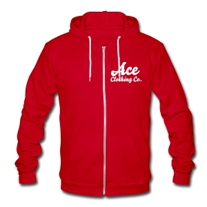 Ace Zip - Unisex Fleece Zip Hoodie by American Apparel