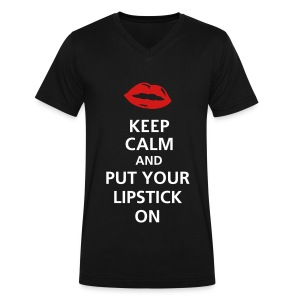 Keep Calm - Men's V-Neck T-Shirt by Canvas