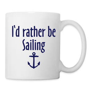 I'd rather be sailing anchor