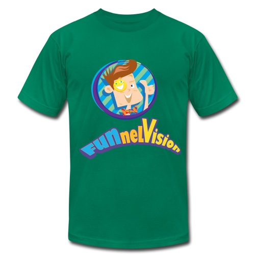 Funnel Vision Adult Premium T-Shirt - Men's Fine Jersey T-Shirt