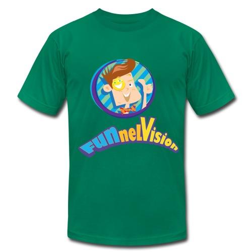 Funnel Vision Adult Premium T-Shirt - Men's  Jersey T-Shirt