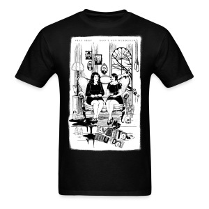 Sitting Crooked - Men's T-Shirt