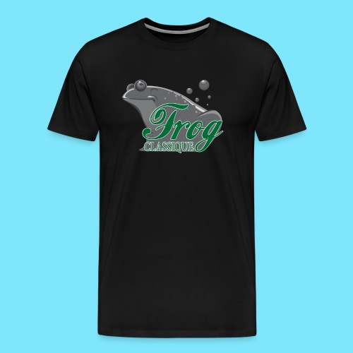 Frog Classique T-Shirt (Black) - Men's Premium T-Shirt