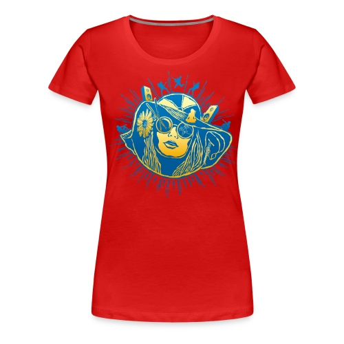 Summer Sounds - Women's Premium T-Shirt
