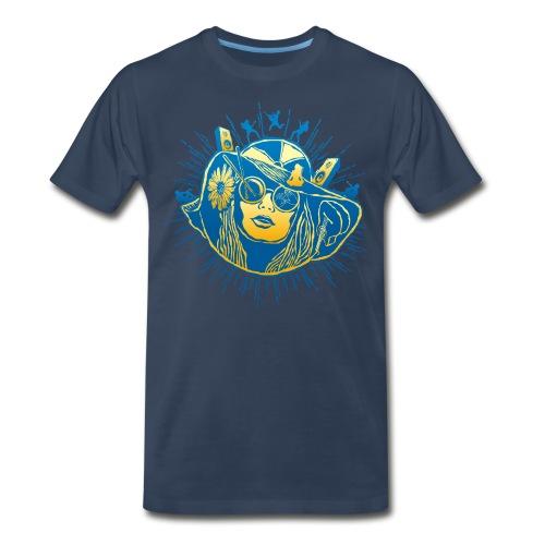 Summer Sounds - Men's Premium T-Shirt