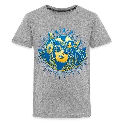 Summer Sounds - Kids' Premium T-Shirt