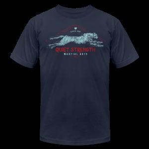 Quiet Strength Martial Arts - Men's Fine Jersey T-Shirt