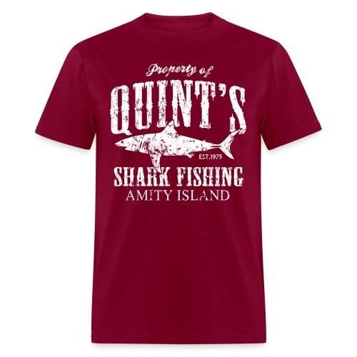 Quints Shark Fishing - Men's T-Shirt