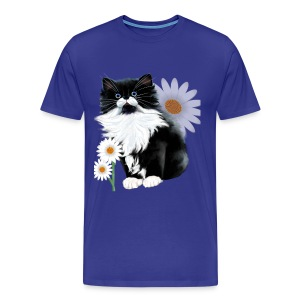 Kitten and Daisy - Men's Premium T-Shirt