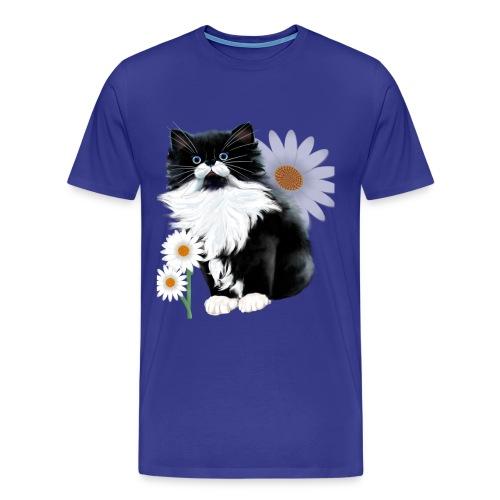 Kitten and Daisy - Men's Premium T-Shirt