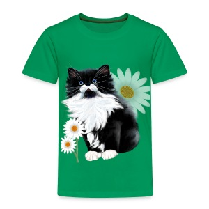 Kitten and Daisy - Toddler Premium T-Shirt