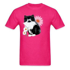 Kitten and Daisy - Men's T-Shirt