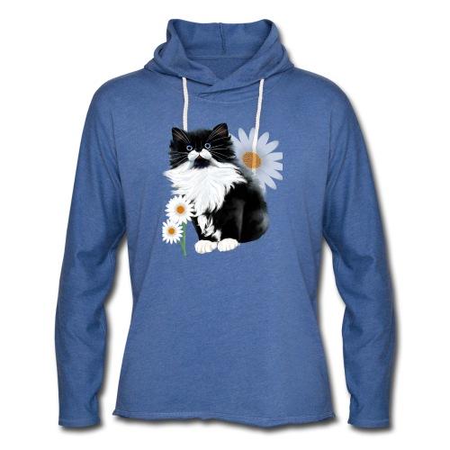 Kitten and Daisy - Unisex Lightweight Terry Hoodie