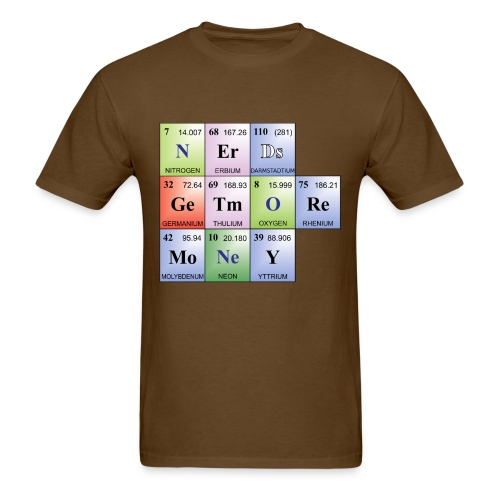 Nerds... - Men's T-Shirt