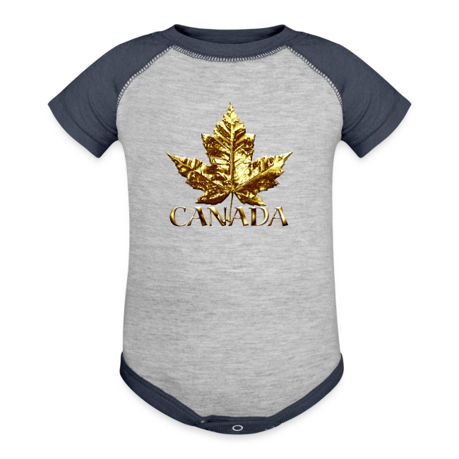 Baby Canada One-Piece Gold Medal Baby Canada Souvenirs