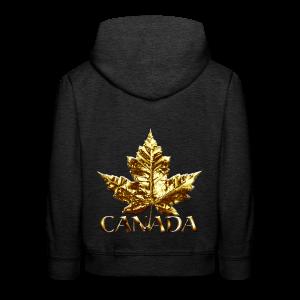 Kid's Canada Souvenir Hoodies Gold Medal Canada Hoodies - Kids' Premium Hoodie