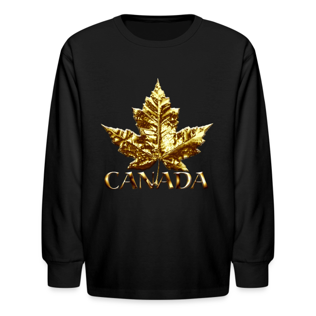 Kid's Canada Shirts Gold Medal Canada T-shirt