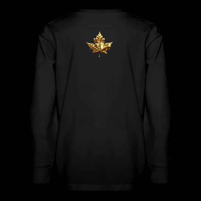 Kid's Canada Shirts Gold Medal Canada T-shirt