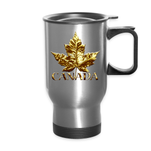 Canada Souvenir Travel Mugs Gold Medal Canada Souvenirs - Travel Mug