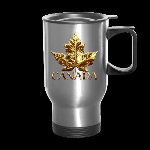 Canada Souvenir Travel Mugs Gold Medal Canada Souvenirs - Travel Mug