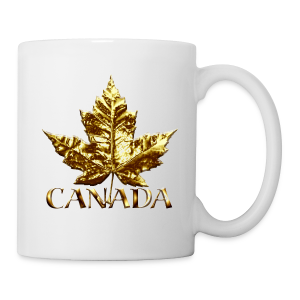 Canada Souvenir Cups Gold Medal Canada Mugs - Coffee/Tea Mug