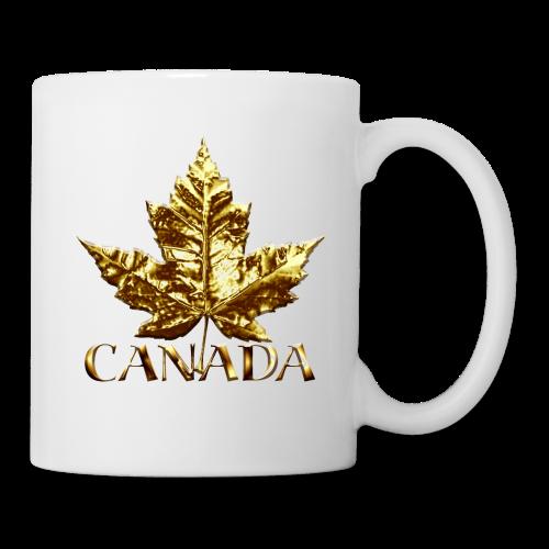 Canada Souvenir Cups Gold Medal Canada Mugs - Coffee/Tea Mug