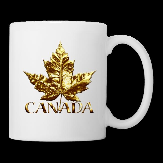 Canada Souvenir Cups Gold Medal Canada Mugs