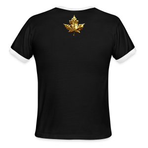 Men's Canada Ringer Shirts Gold Medal Canada T-shirts - Men's Ringer T-Shirt