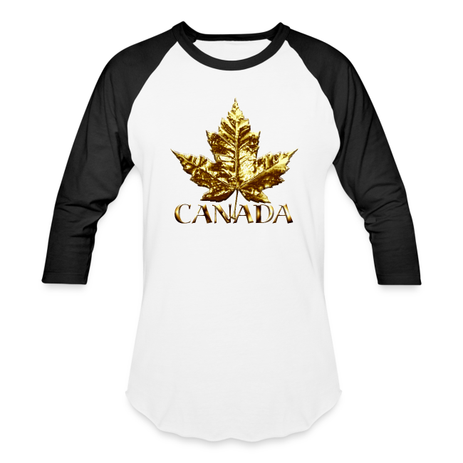 Men's Canada Jersey Shirts Gold Medal Canada Shirts