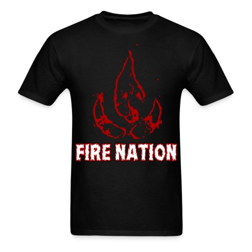 AVATAR LOK - FIRE NATION - Men's T-Shirt