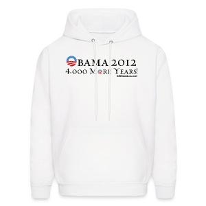 Obama 2012 - 4,000 More Years - Men's Hoodie
