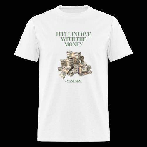 In Love With The Money - MEN (WHITE) - Men's T-Shirt