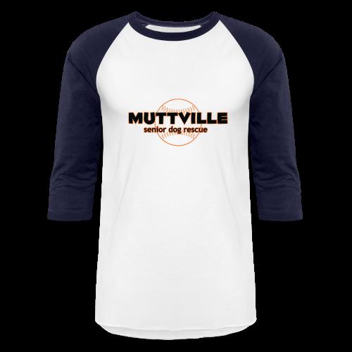 Unisex Muttville 2017 Baseball Raglan Tee - Baseball T-Shirt