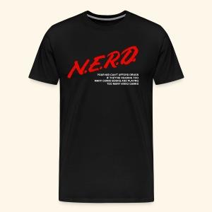 NERD Shirt (Guys) - Men's Premium T-Shirt