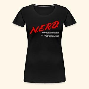 NERD Shirt (Gals) - Women's Premium T-Shirt