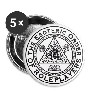 Esoteric Order of Roleplayers Logo Buttons - Large Buttons