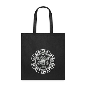 Esoteric Order of Roleplayers Logo Tote Bag (White Logo) - Tote Bag