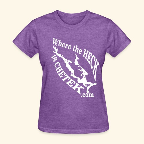 WtHiC Ladies Purple Heather - Women's T-Shirt