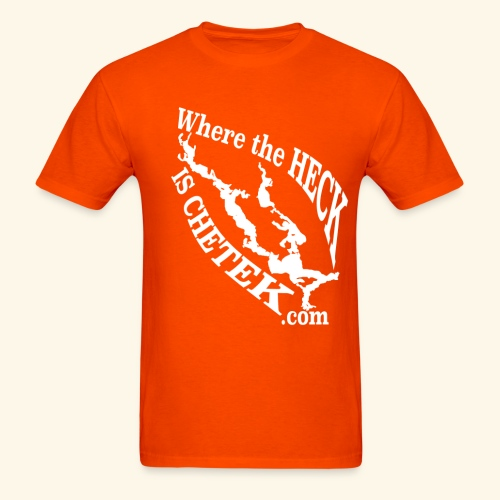 WtHiC CW Orange - Men's T-Shirt