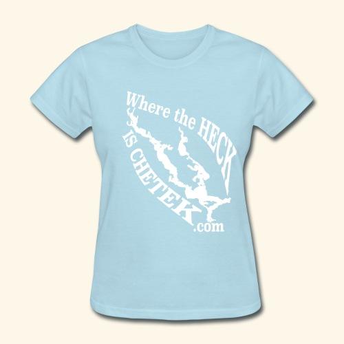 WtHiC Ladies Baby Blue - Women's T-Shirt