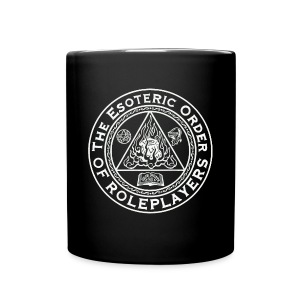 Esoteric Order of Roleplayers Logo Full Color Mug (White Logo) - Full Color Mug