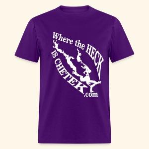 WtHiC Bulldog Purple - Men's T-Shirt