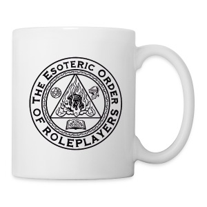 Esoteric Order of Roleplayers Logo Mug (Black Logo) - Coffee/Tea Mug