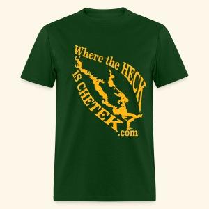 WtHiC Green & Gold - Men's T-Shirt