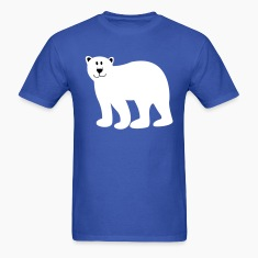Cute Bear - TWO COLOR VECTOR T-Shirts