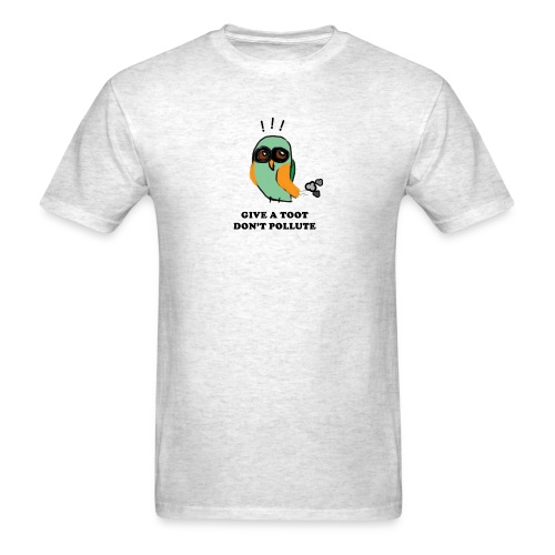 Give a Toot (black letters) - Men's T-Shirt