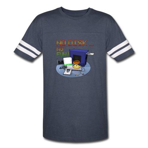 No Disk - No Fun - DIGITAL - Vintage Sport T-Shirt