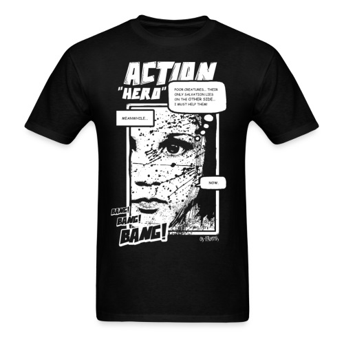 Action Hero - Men's T-Shirt